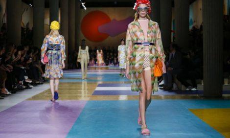 Style Notes с Мариной Изиловой: ретро-настроение на показе Miu Miu весна-лето 2017
