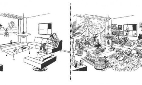 Концепция уюта: минималистичный дизайн вреден для здоровья?