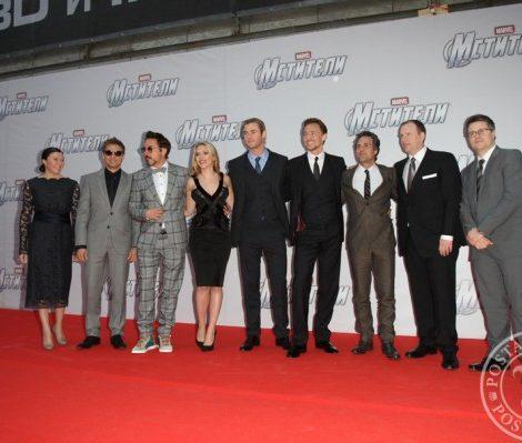 Светская хроника: Московская премьера «Мстителей»