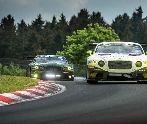 Идея на уикенд: Bentley Motorsport снова в «24 часа Нюрбургринга»