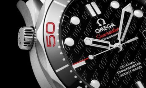 Новости: Юбилейные часы Omega James Bond 007