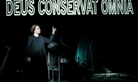КиноТеатр: Deus conservat omnia. Спектакль «Ахматова. Поэма без героя» в «Гоголь-центре»