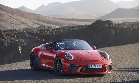 Авто с Яном Коомансом. Porsche 911 Speedster: нарушая правила