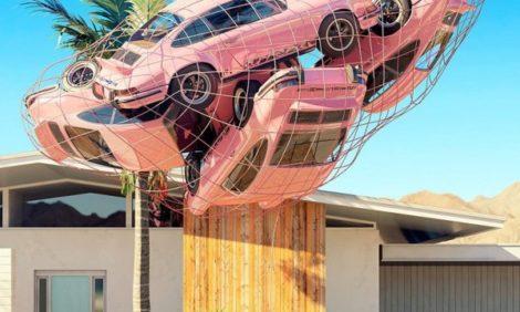 Инстаграм недели: сибаритствующие Porsche911 художника Криса Лабруя