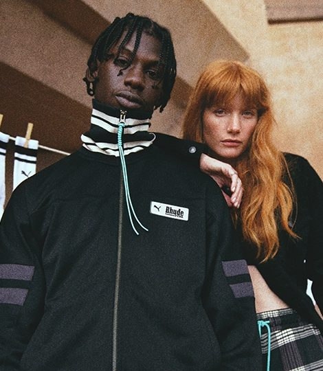 Первая совместная коллекция Puma с брендом уличной одежды Rhude
