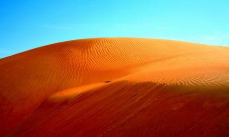 Jet Set: красная пустыня в Омане