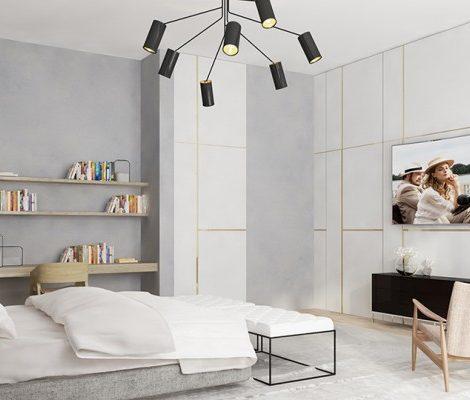 Дизайн & Декор: телевизоры Samsung 4K QLED TV — Q8C и Q7C как элемент дизайна