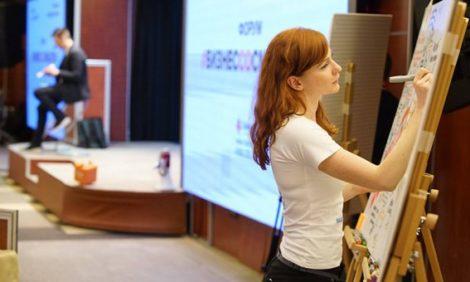 Скрайбинг и визуализация: как удержать внимание топ-менеджера на презентации