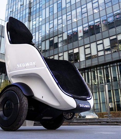 Экологичная новинка CES 2020: футуристическое ховер-кресло S-Pod Segway