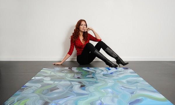 Art & More: художник Анастасия Щипанова – о том, как заряжаться энергией с помощью цвета и живописи, и где искать свои «места силы»