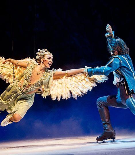 «Спящая красавица. Легенда двух королевств»: московская премьера нового ледового шоу Татьяны Навки