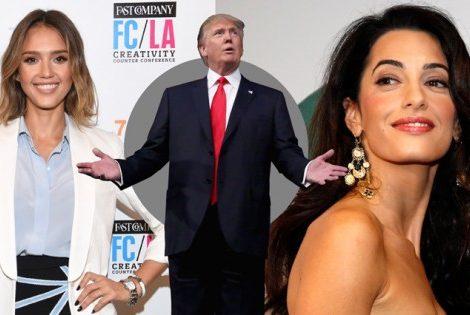 Women in Power: Амаль Клуни может стать ведущей реалити-шоу вместо Дональда Трампа
