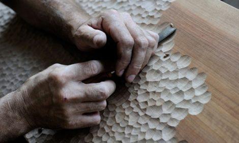 Дизайн & Декор: «тактильная мебель» по охраняемой ЮНЕСКО технологии