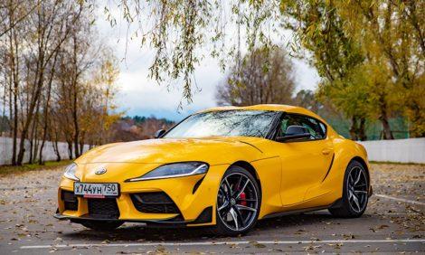 Авто с Яном Коомансом: обзор Toyota GR Supra