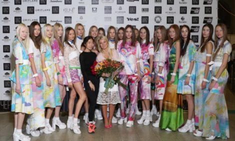 Vanity Fair с Марией Лобановой: показ Natalia Valevskaya весна-лето 2015