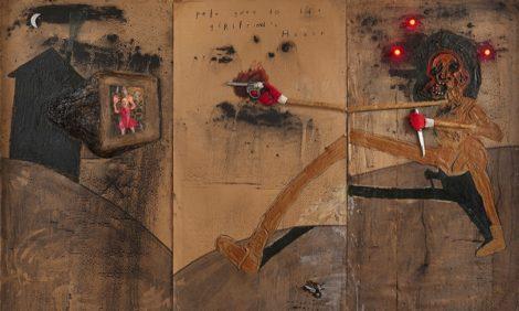 Травмированная живопись и пощечины общественному вкусу: самые интересные выставки февраля