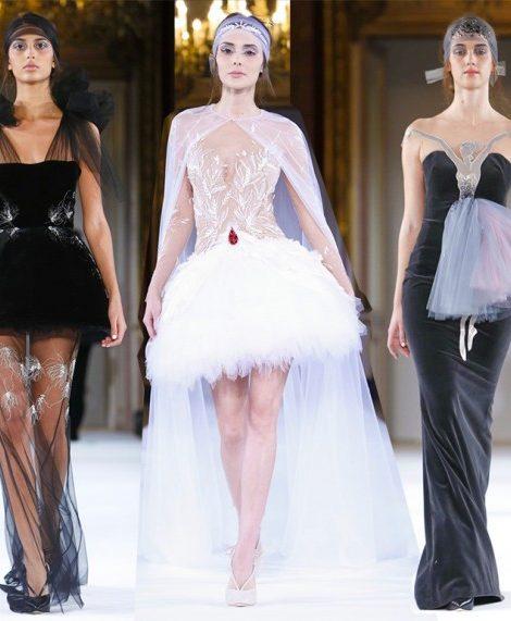 Vanity Fair с Марией Лобановой: Yanina Couture на Неделе высокой моды в Париже