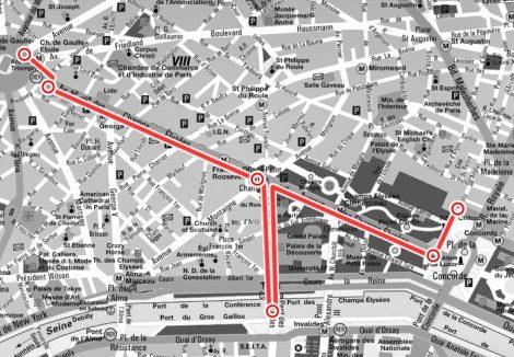 Маршрут: романтичная прогулка по Парижу