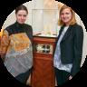 Анна Минакова и Юлия Савельева