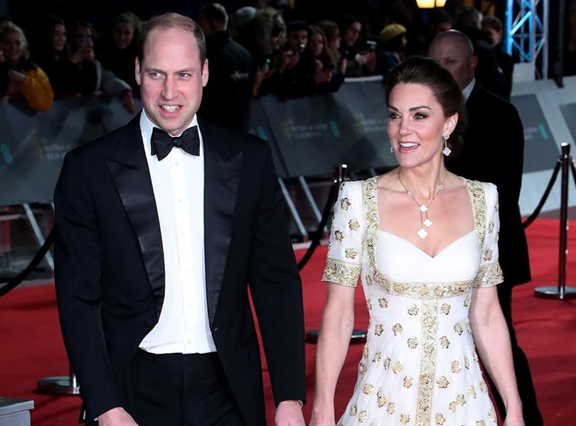Герцоги Кембриджские и другие гости церемонии BAFTA в Лондоне