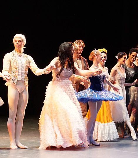 Традиционный гала-вечер «Иконы балета» в Лондоне