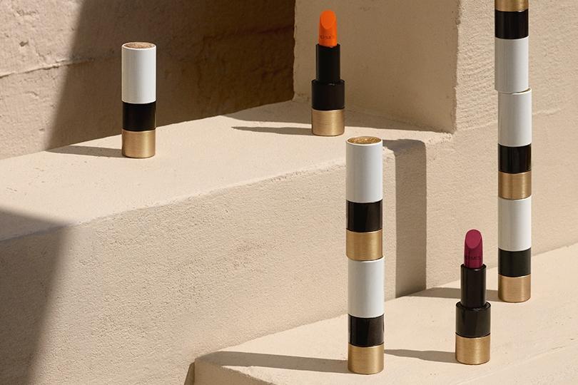 Rouge Hermès: первые помады Дома по мотивам платков-каре