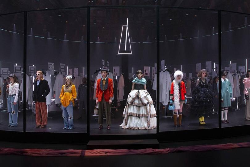В Милане показали коллекцию Gucci осень-зима 2020/2021