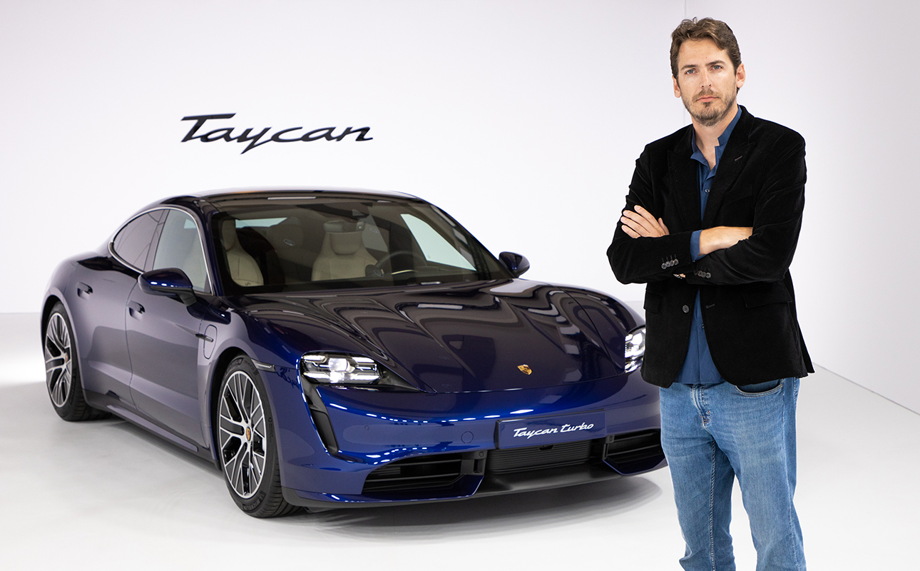Cars with Jan Coomans. Porsche and the electric force