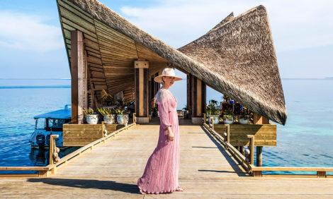 Наталья Давыдова и лучший остров на Мальдивах