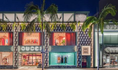 В Лос-Анджелесе на крыше фирменного магазина Gucci открылся ресторан под руководством Массимо Боттуры