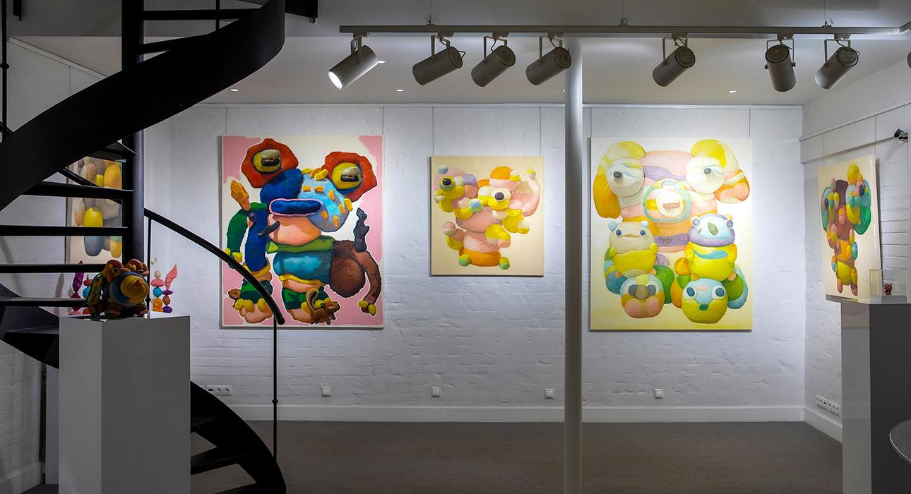 Светская неделя с Ириной Чайковской: открытиеперсональной выставкиПитераОпхайма в Askeri Gallery