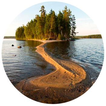 Онежское озеро Петрозаводск, Россия