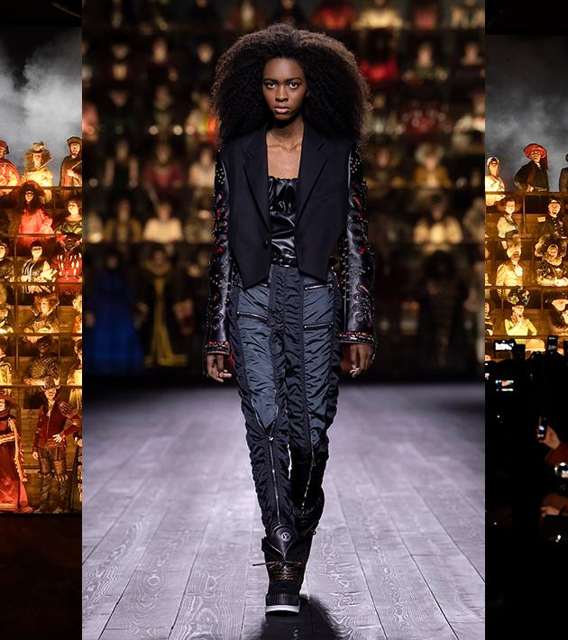 «Костюмная драма»: в Париже показали коллекцию Louis Vuitton осень-зима 2020/ 2021