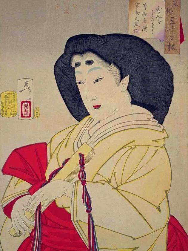 Леди императорского двора эпохи Кёва [1801-1804]