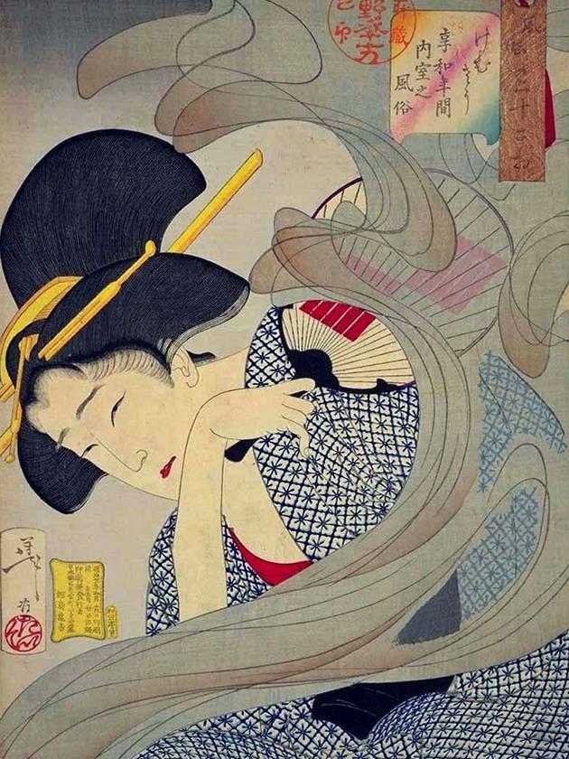 Домохозяйка эпохи Кёва [1801-1804]