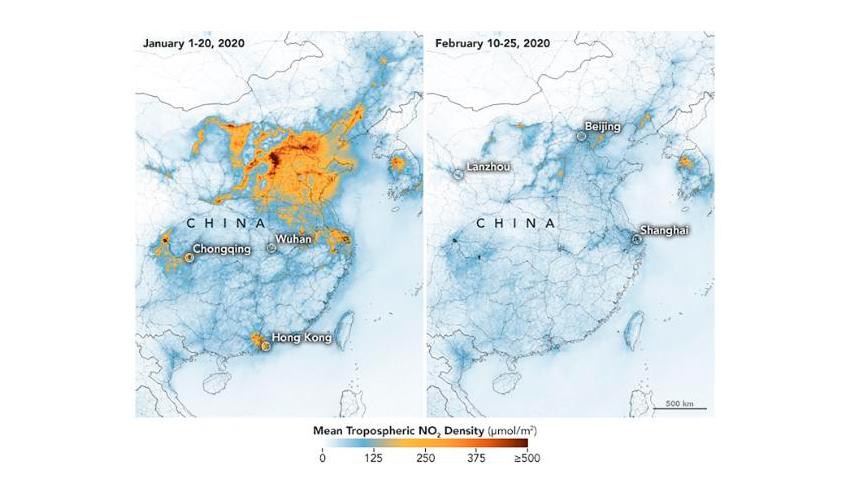Планета Земля в отпуске: как пандемия коронавируса влияет на экологию