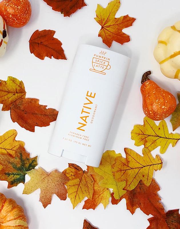 Native Pumpkin Spice Latte Deodorant