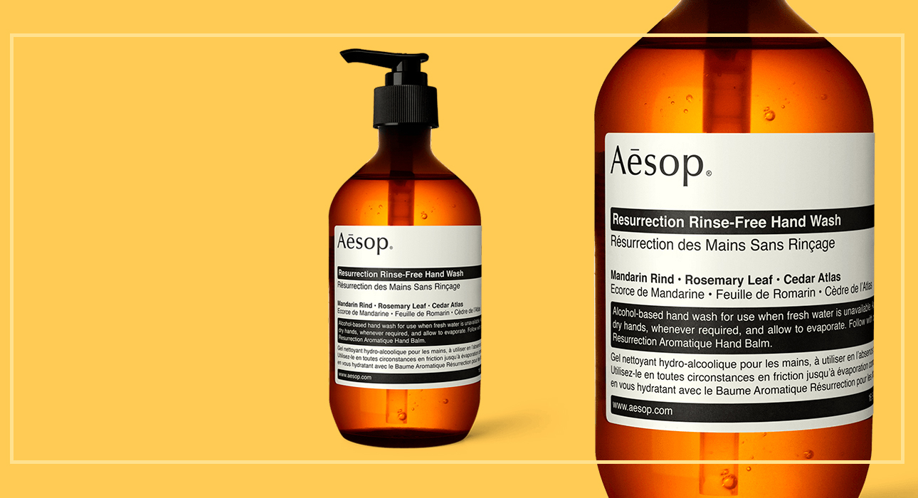 Resurrection Rinse-Free Hand Wash, Aesop
