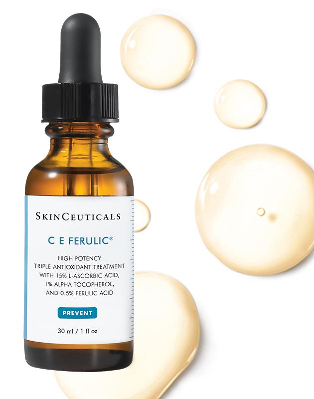 Высокоэффективная сыворотка тройного действия для сухой и нормальной кожи CE Ferulic