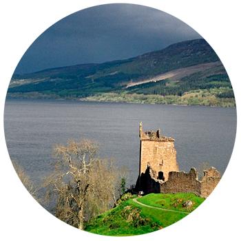 Озеро Лох-Несс Шотландия, Соединенное королевство Великобритании и Северной Ирландии
