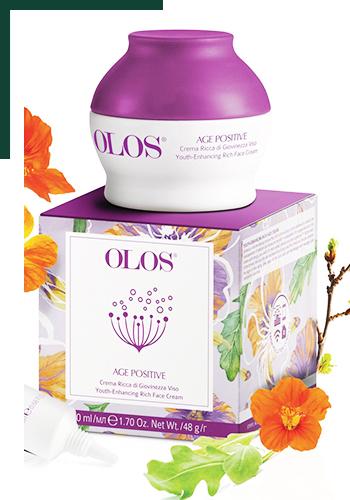 Новая линия по уходу за лицом Olos Age Positive