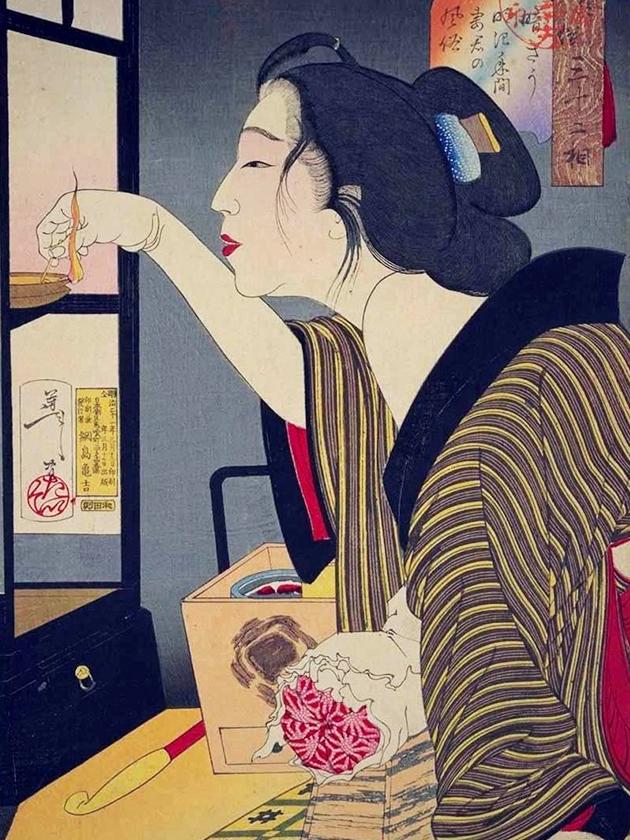 Супруга чиновника эпохи Мэйдзи [1868-1912]