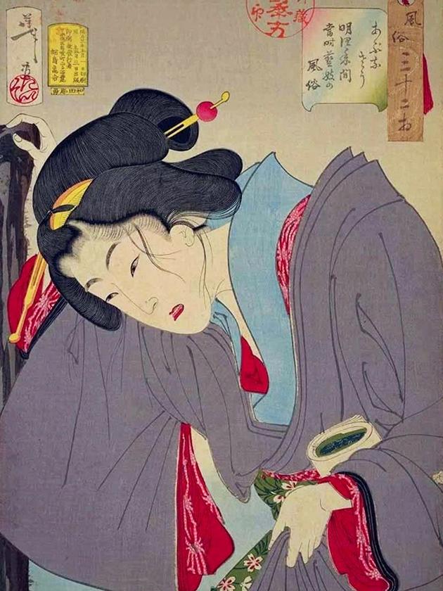 Современная гейша эпохи Мэйдзи [1868-1912]