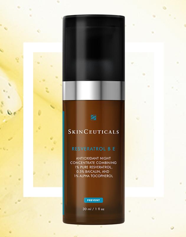 Ночной концентрированный антиоксидантный уход для регенерации кожи Resveratrol BE