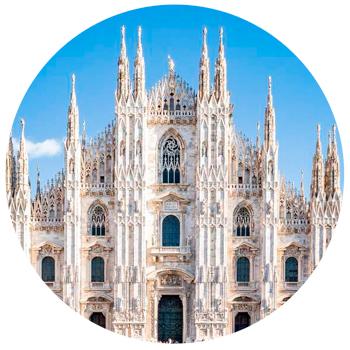 Площадь перед Миланским собором Милан, Италия