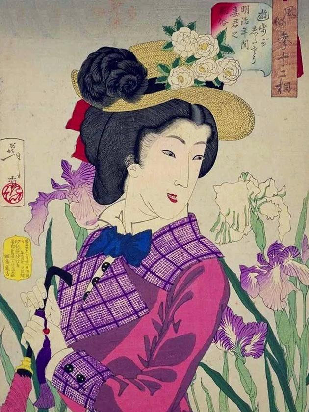 Супруга аристократа в эпоху Мэйдзи [1868-1912]