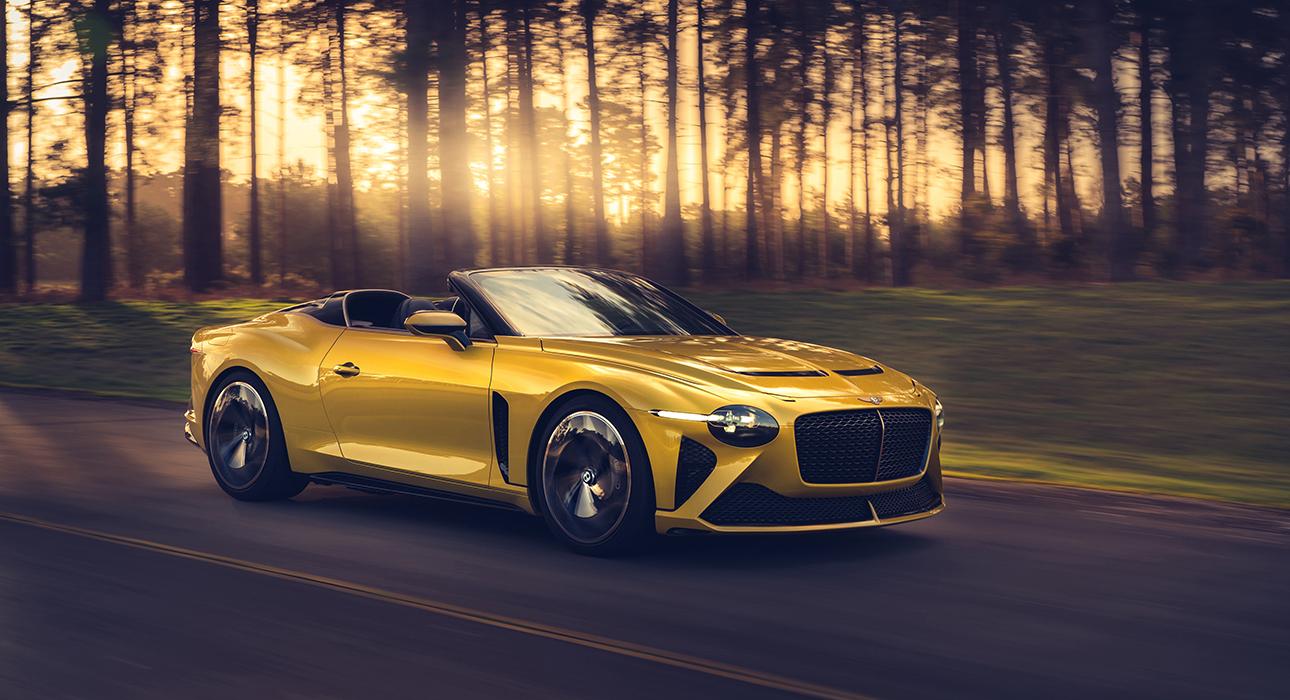 Ателье персонализации Mulliner представило три линии нового Bentley