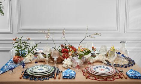 На блюдечке: коллекция посуды Dior Maison Copacabana