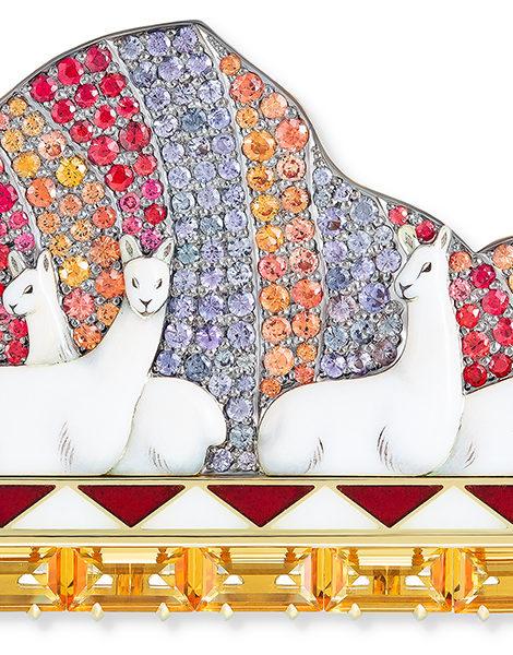 Ламы, орлы и фиалки: перуанская коллекция Ilgiz F