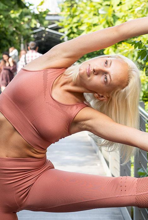 Фитнес дома с Юлией Алексеевой: утренняя зарядка